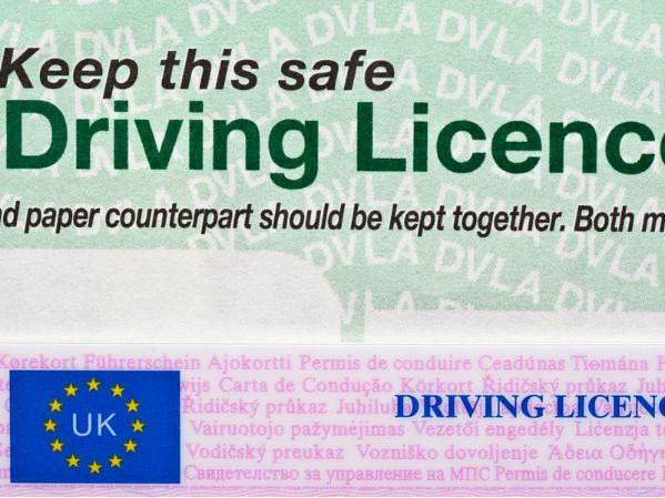Early return of driving licence