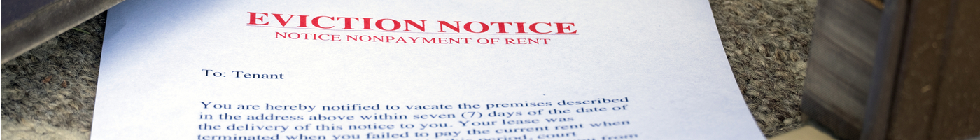 Section 8 Notice Seeking Possession