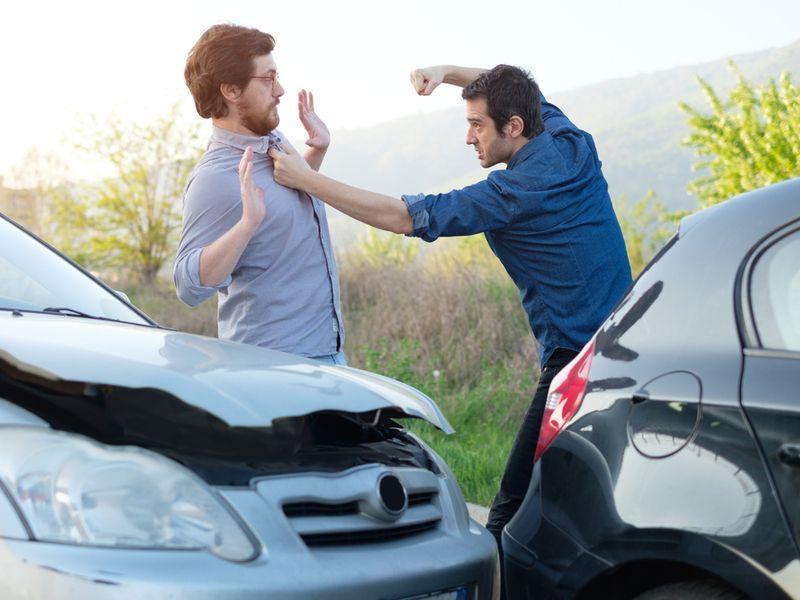 Road rage incidents